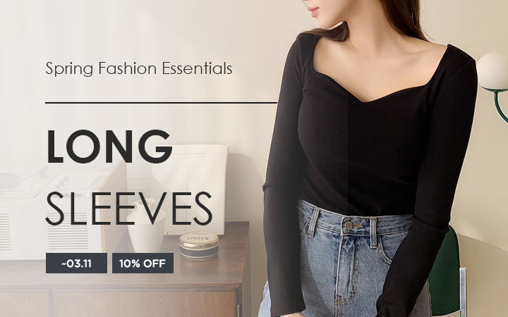 Spring Fashion Essentials - Long Sleeves