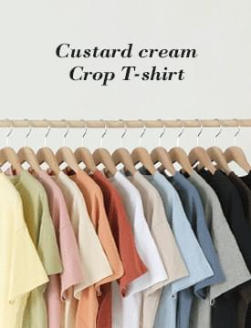 Cream puff cropped T-shirt 短袖上衣