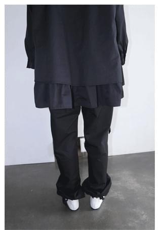nuetral 2-way cotton pants