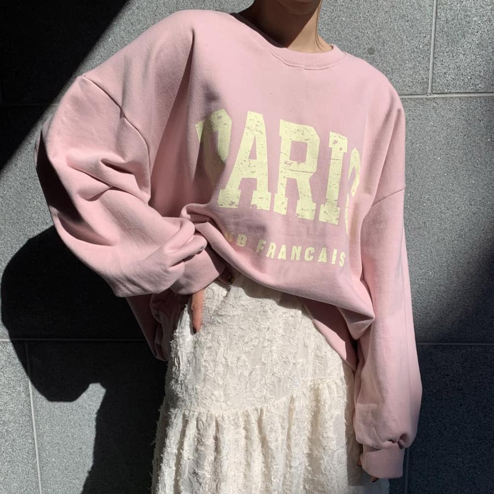 PARIS Big Lettering Sweatshirt