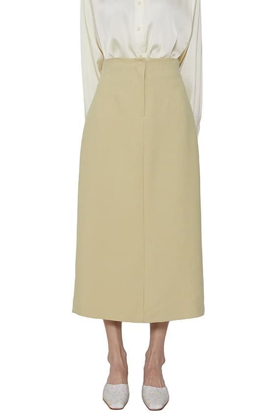 Serum straight maxi skirt