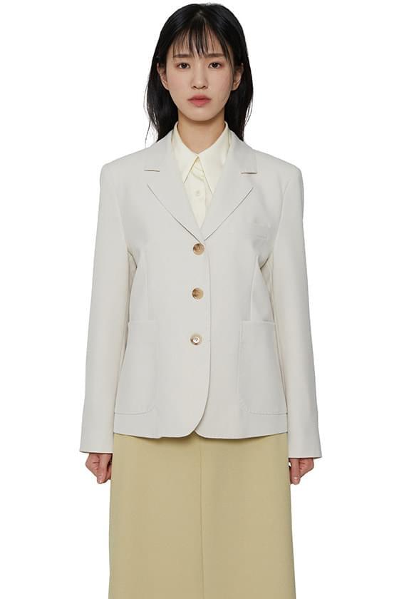 Hoshi stitch single blazer