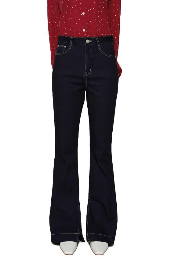 Savage slim long Flared jeans