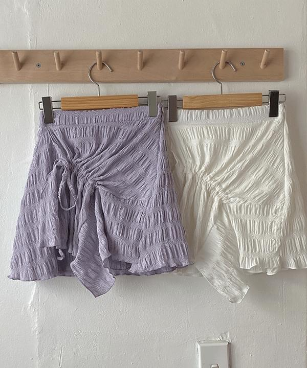 Lien string unfooted skirt 3color 裙子