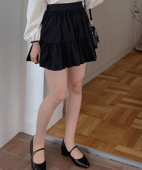 Garden Cancan Mini Skirt 3color 裙子