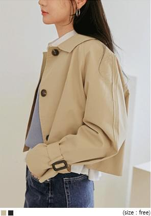ODEN MAC COLLAR TRENCH JACKET