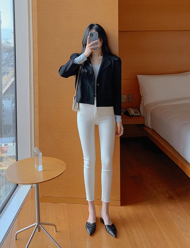 韓國空運 - Ruel cape short jacket 夾克外套