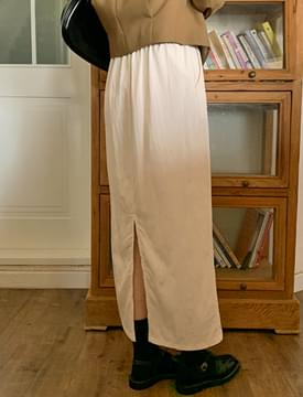 Sophie Natural Banding Long Skirt 裙子