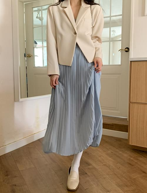 Lolly pleated long skirt 裙子