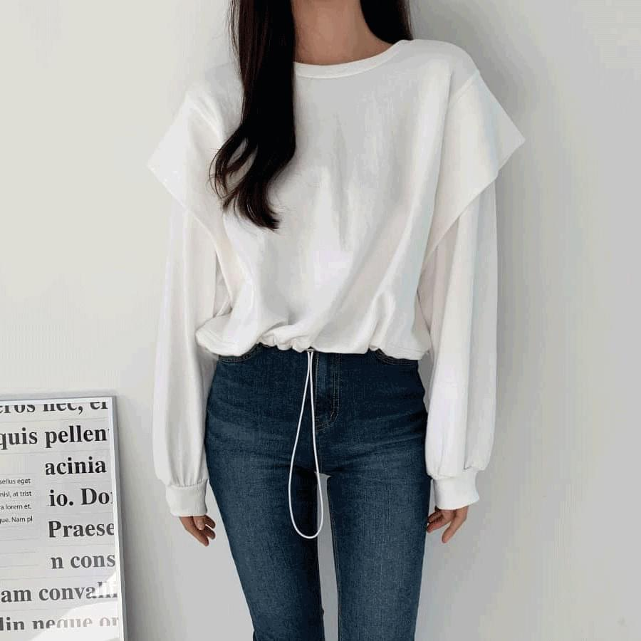 String double sleeve Sweatshirt