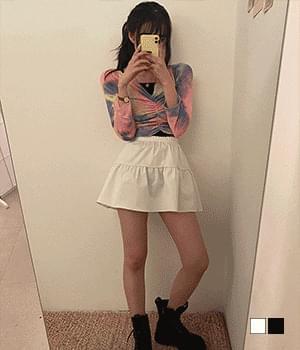 Fury cancan banding mini skirt