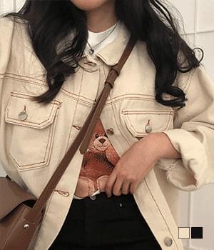Basic Cotton Tracker Jacket