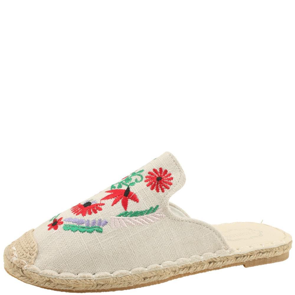 Flower Ma Espadu Mule Blower Beige loafers
