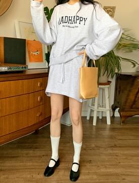 ハッピースウェットシャツ&スカートSET