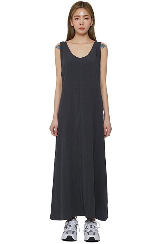 페이 나일론 맥시 드레스