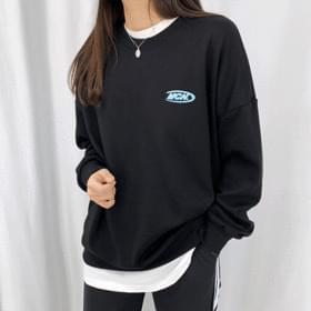 CN lettering Sweatshirt