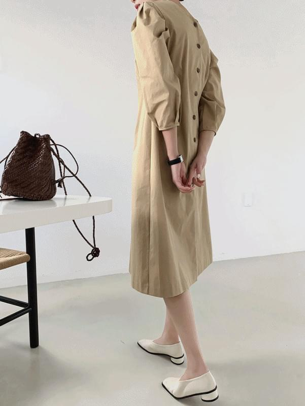 Button Two-way Dress