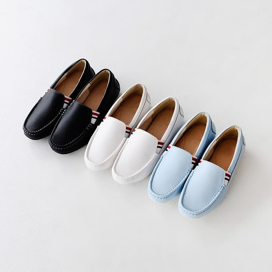 Hedelon leather loafers 3cm tall