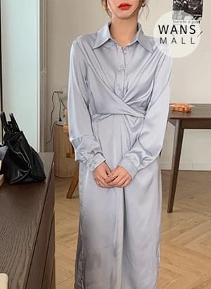 op3780 Lowell Twist Long Dress