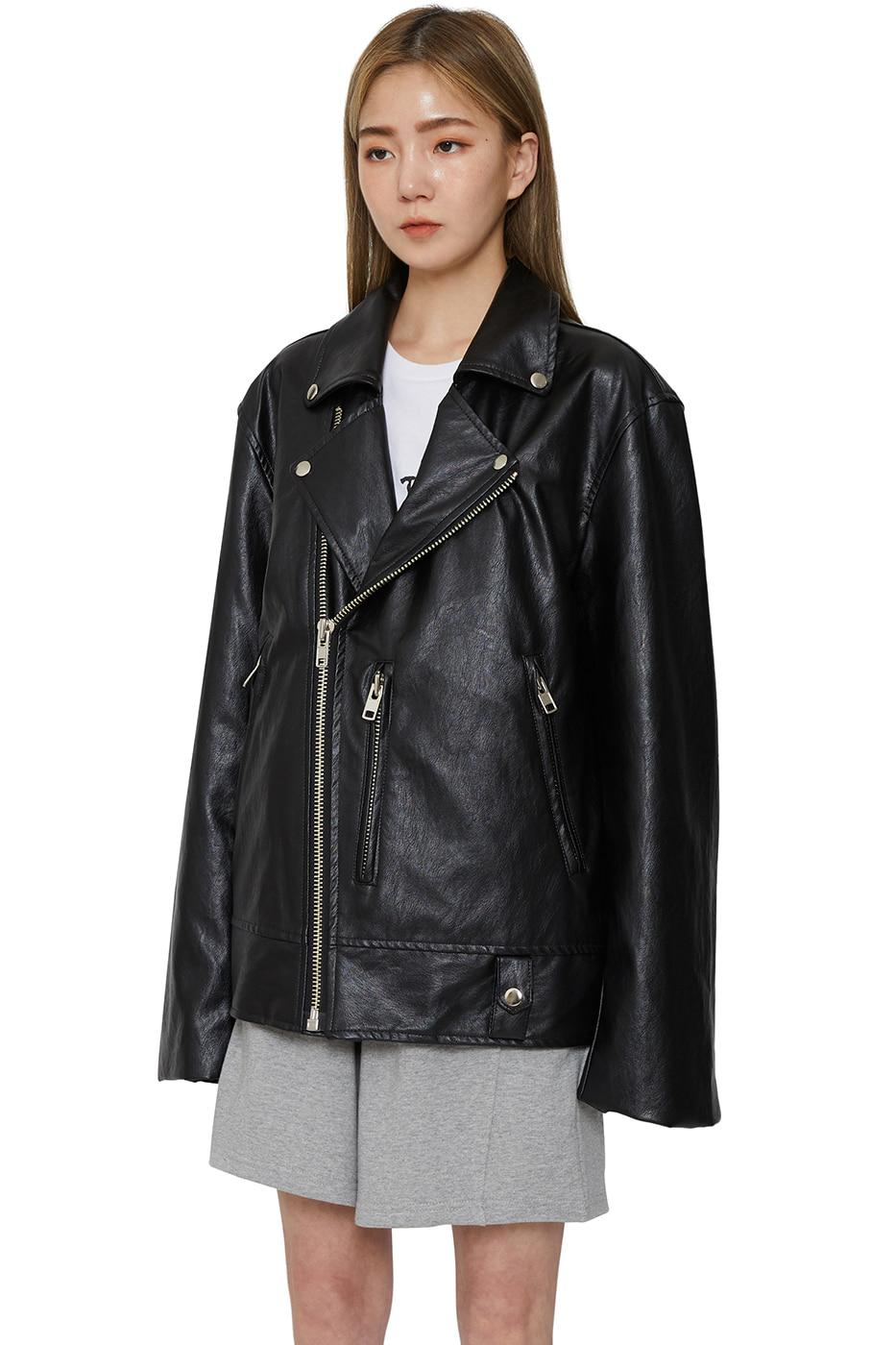 Unisex local leather jacket