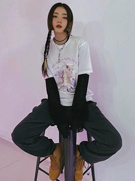 나비 메이든 키튼티셔츠