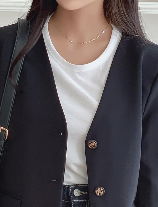 Moonstar necklace