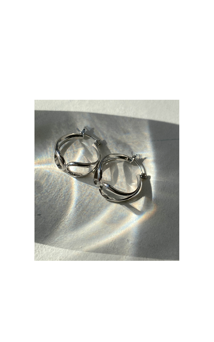 Tickle Silver Ring Earrings