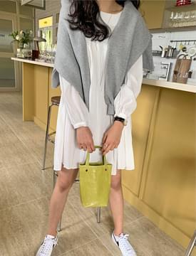 Freya pleated mini Dress