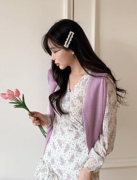 Bijou V-Neck Knitwear 針織衫