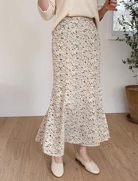 Rose Flower Long SK 裙子