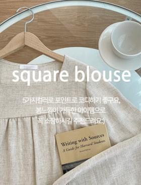 Nilos Square BL 襯衫
