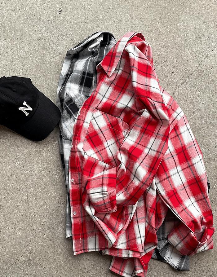 Berry Check Shirt