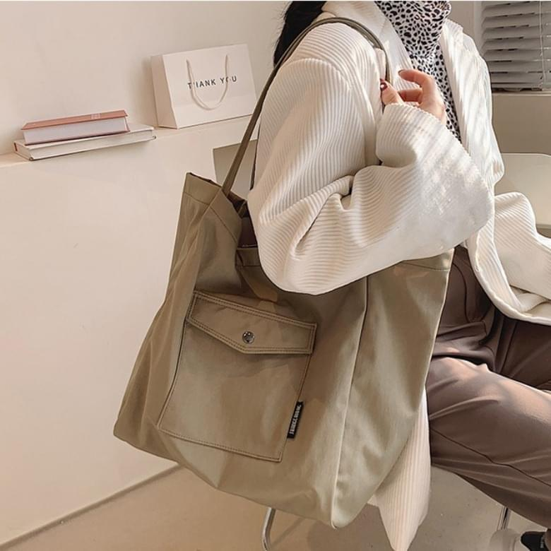 Class canvas tote shoulder bag