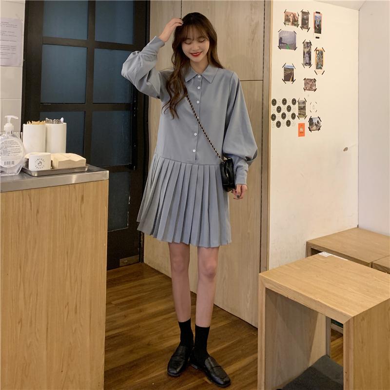 op3846 Lone pleated Dress