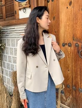 Perfume double crop jacket
