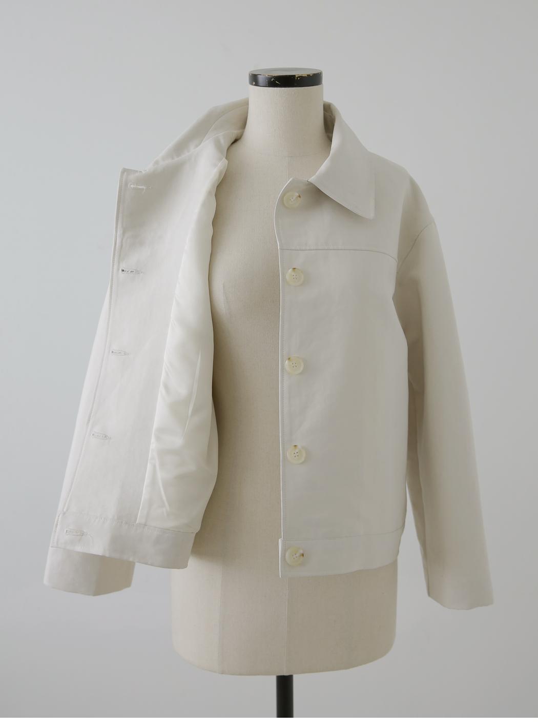 Stuffed Semi-Crop Jacket