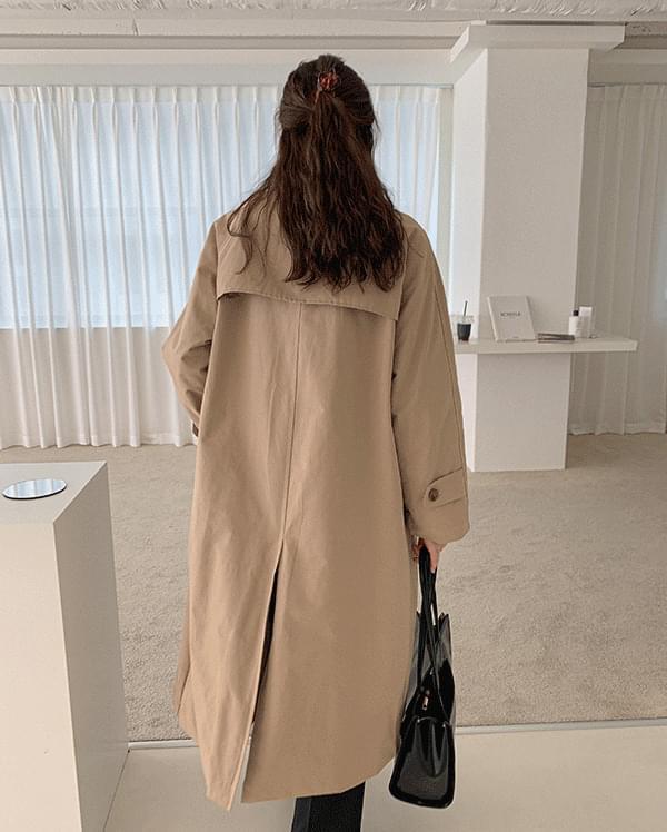 #made some Sabrina maxi long trench coat
