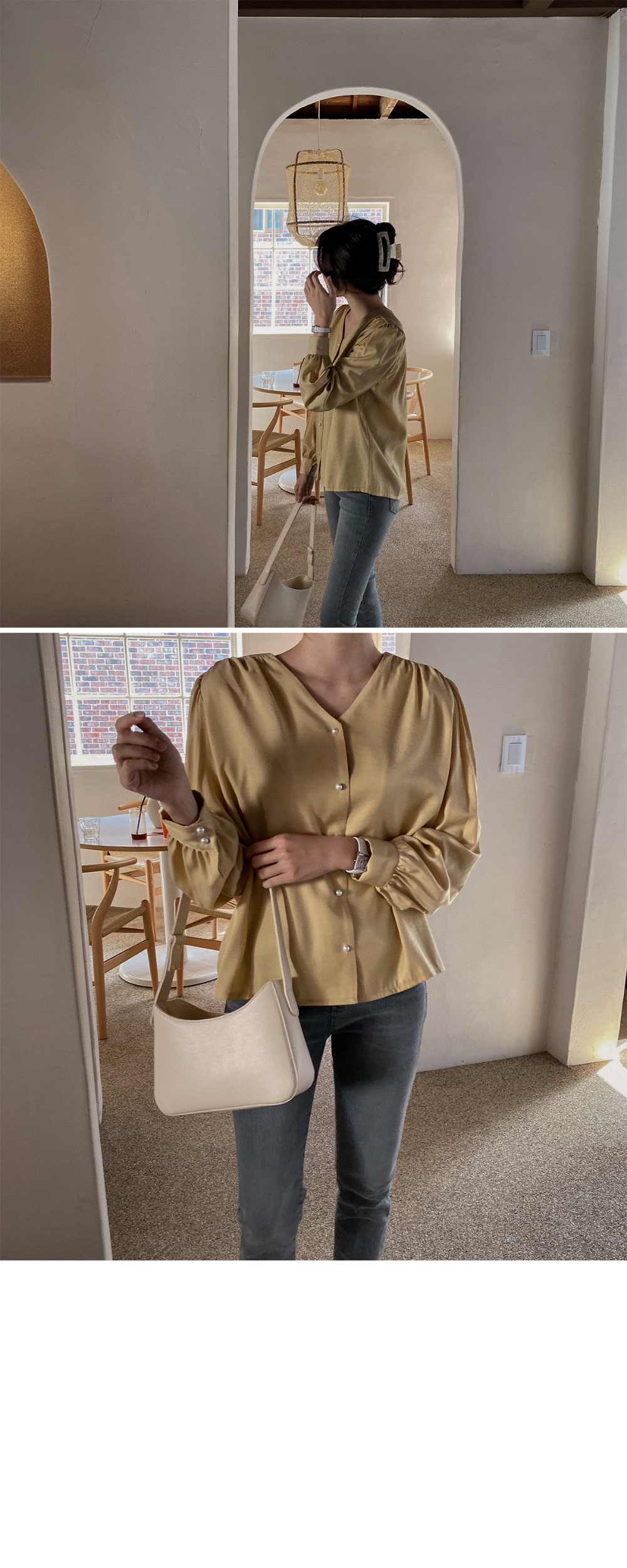 Carrie Blouse-3color
