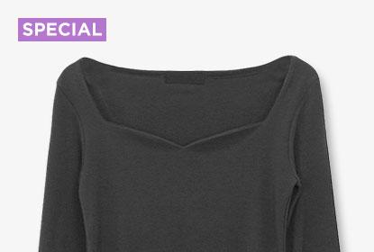 한 가지 검정 티셔츠, 7가지 코디법