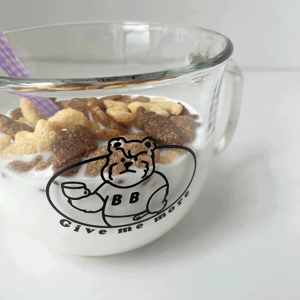 Angry BB Bear Home Cafe Mug Cereal Cup