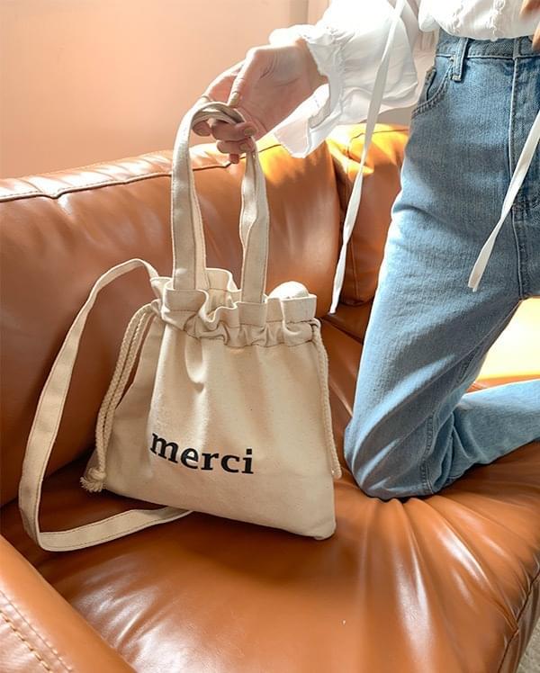 Canvas two-way eco bag
