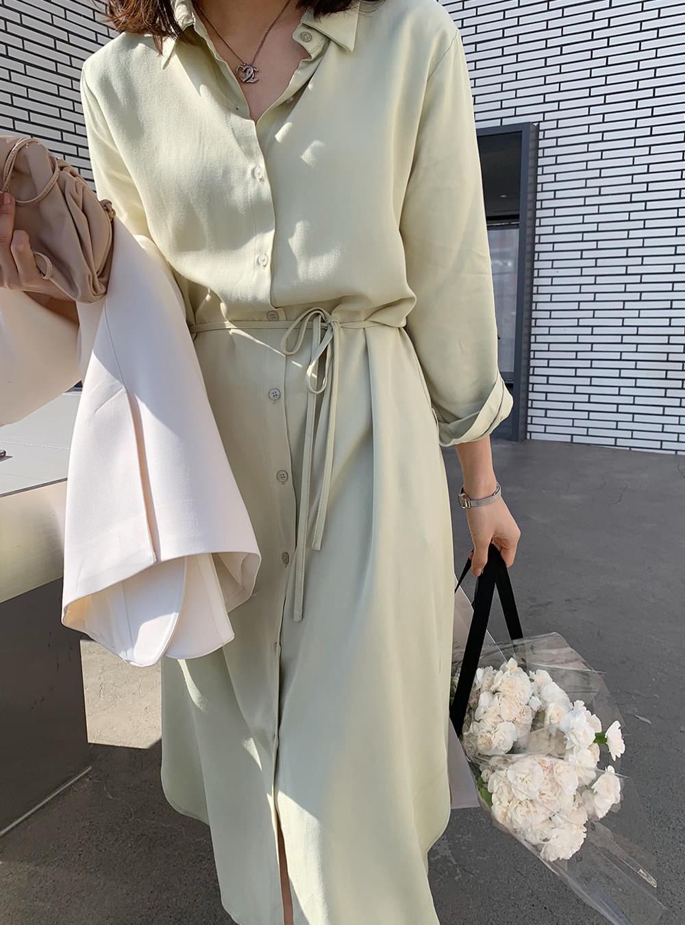 Pastel tsar shirt Dress