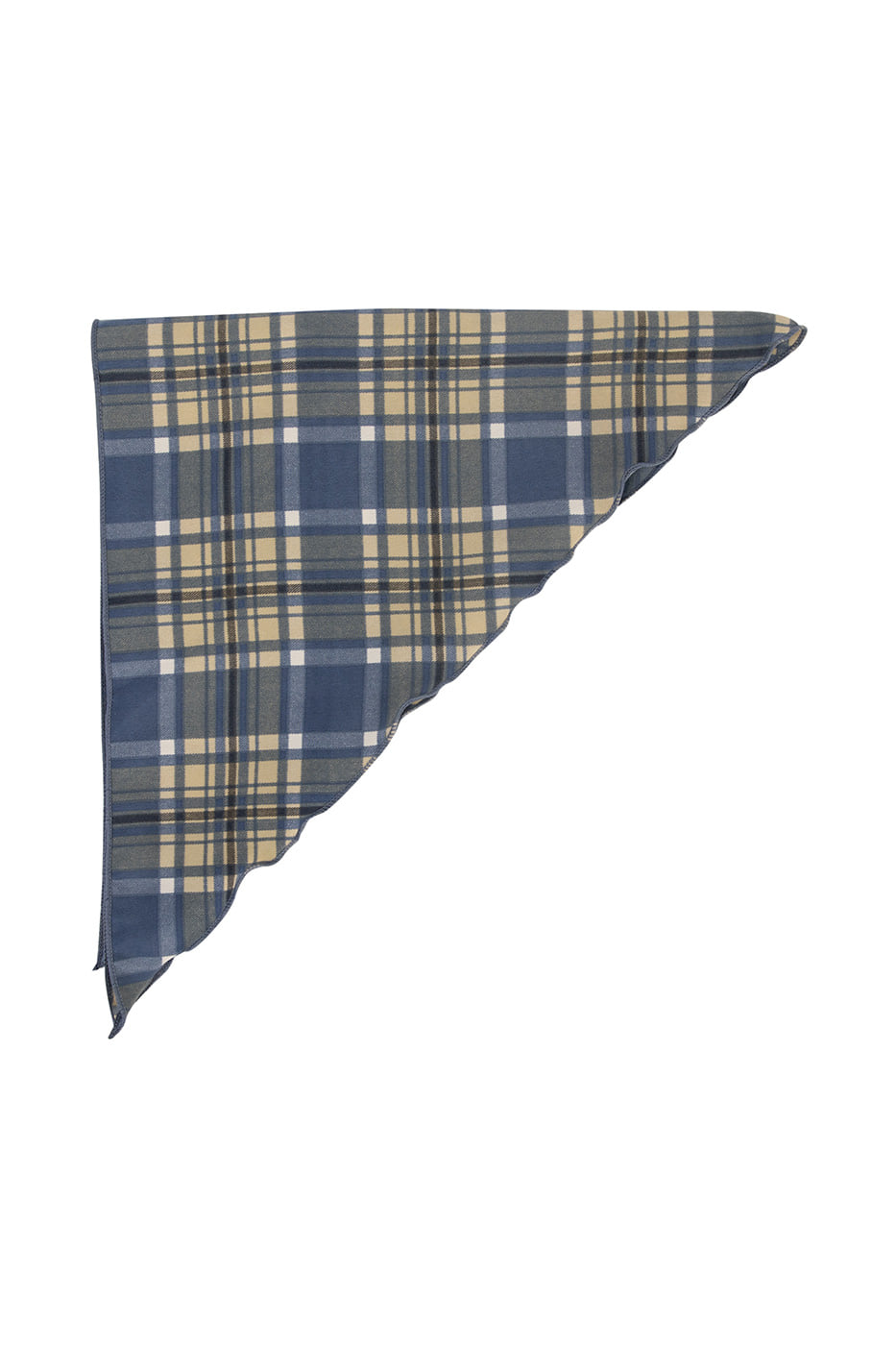 Spring check scarf