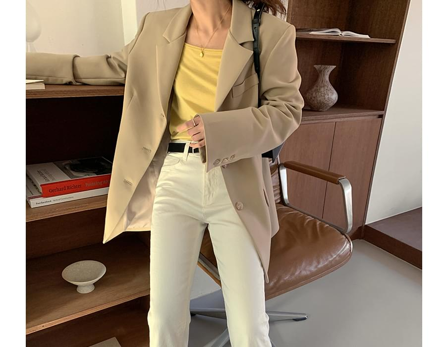 Hayes Boxy tailored jacket
