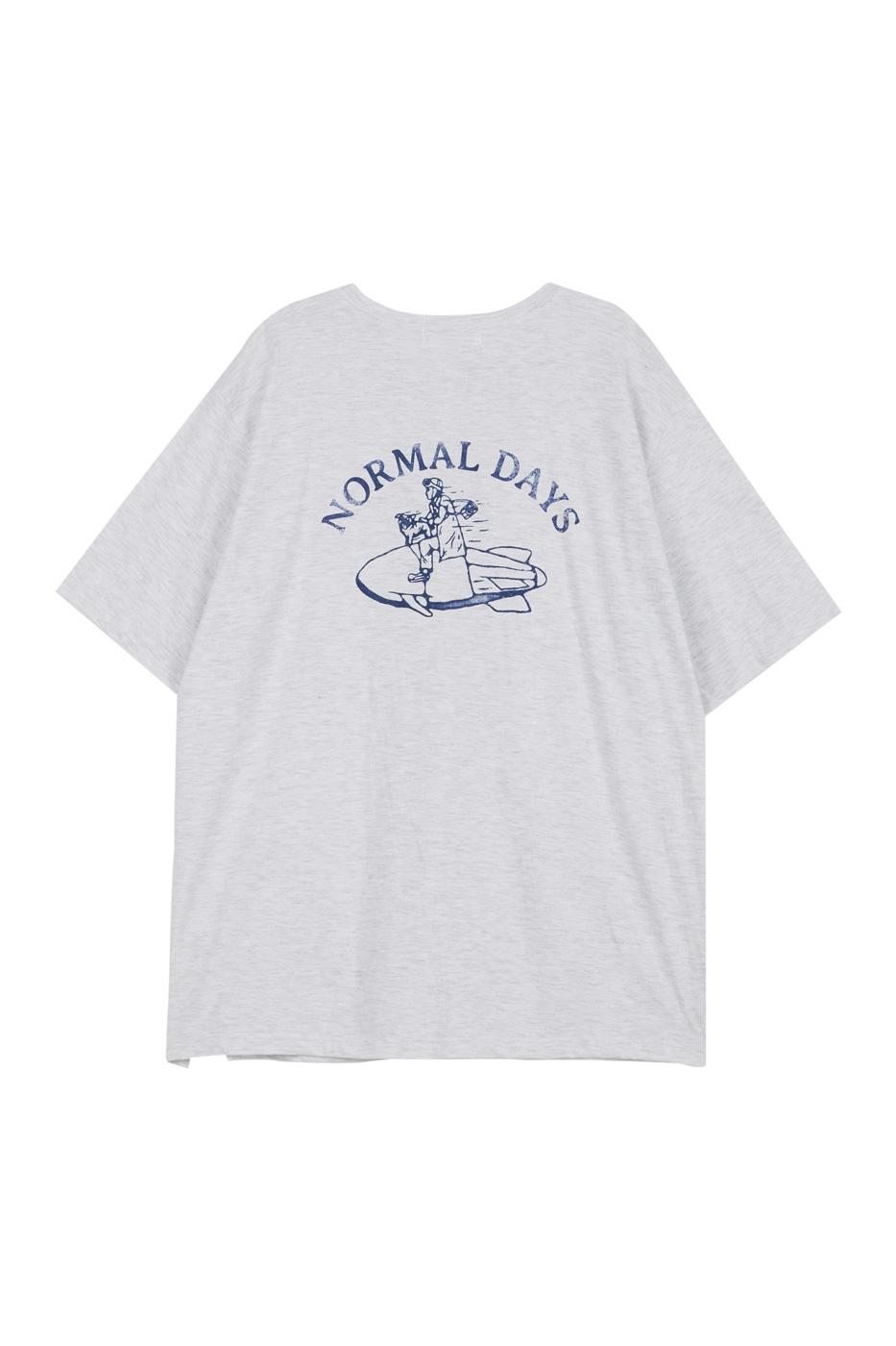 데이즈 쇼트 슬리브 티셔츠