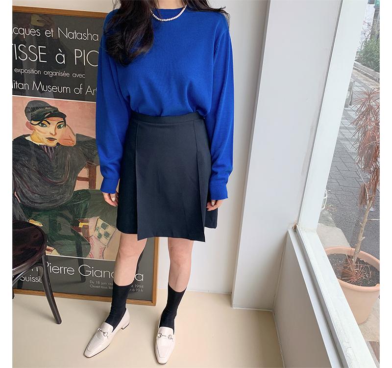 Color round medium knit