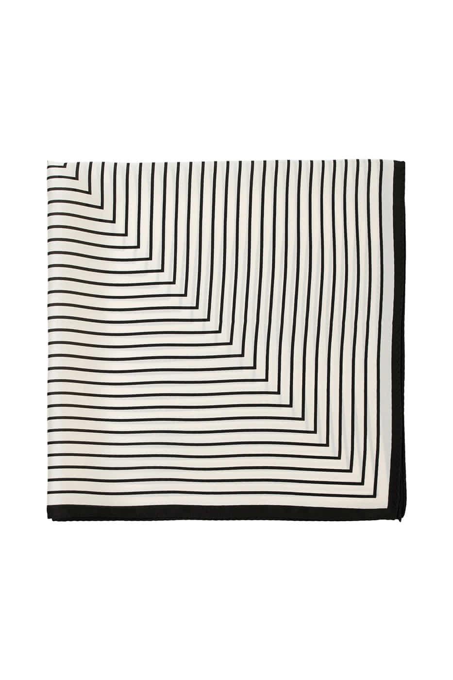 Heidi striped scarf