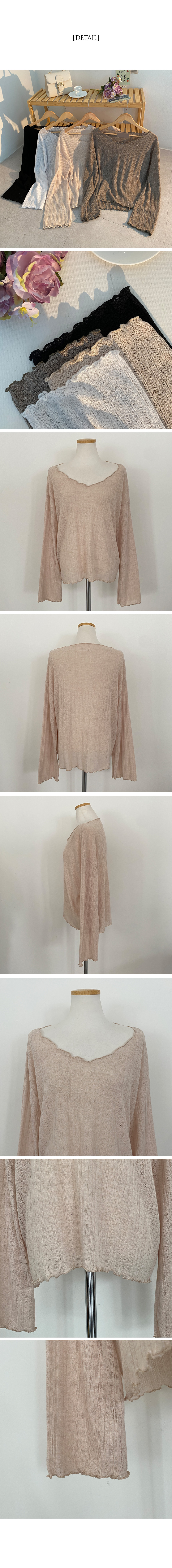 Natural Linen Jelly Knitwear