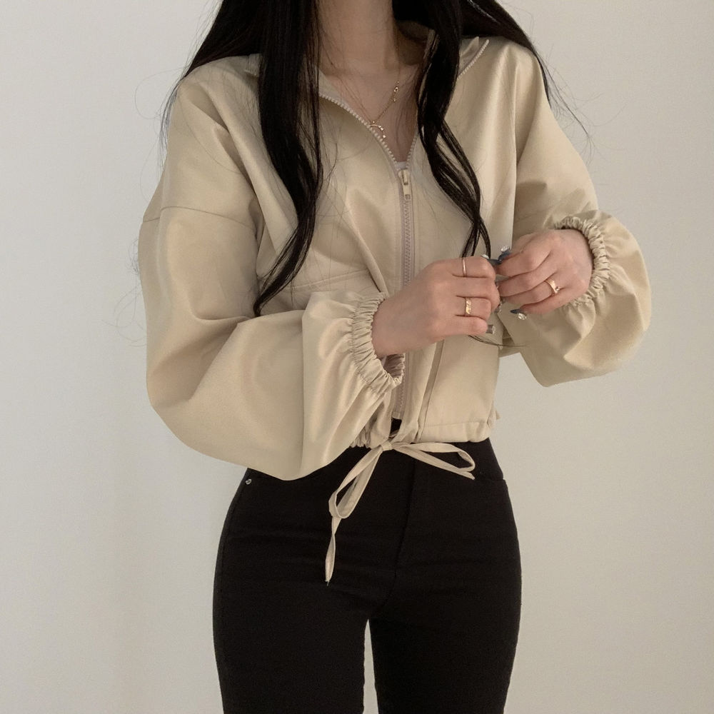 String pocket Jacket