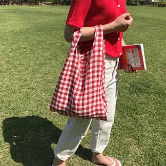 Bonnie Check Eco Bag